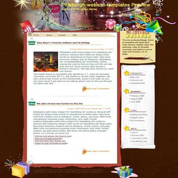 Even on High Heels blogger template. converted WordPress to Blogger template