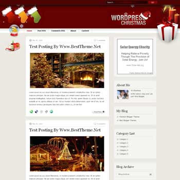 Christmas.v1.1 template blog. convert wordpress theme to blogger template. template blog from wordpress theme. template blog content slider. magazine style blogger template