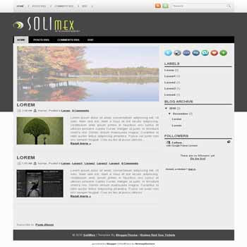 SoliMex blogger template converted wordpress theme to blogger template. image slideshow blogger template. game blogger template. image slideshow blogspot template. game blogspot template