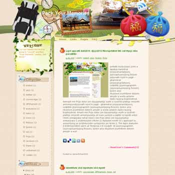 Pack Your Memories template blog from wordpress. travel blog template. template blog from wordpress. travel blog template