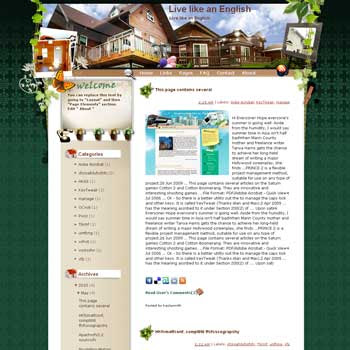 Live like an English template blog from wordpress. travel blog template. template blog from wordpress. travel blog template