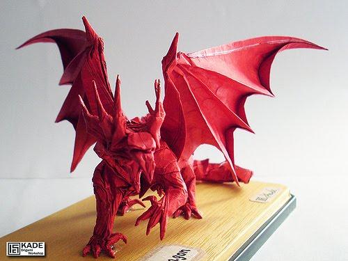 Kade Chan Origami Blog Ancient Dragon