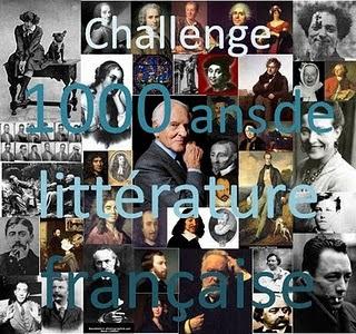 Challenge 1 000 ans de littérature française