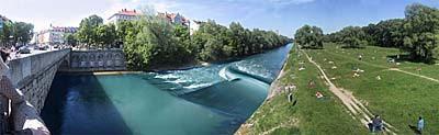 Illustration - Standort München - Wittelsbacher Brücke