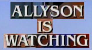 Allyson Is Watching (1997) Drama/Thriller/Romance