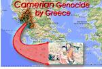 De volkerenmoord van Chameria door Griekenland