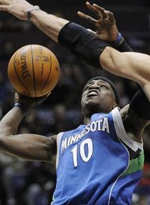Jonny Flynn NBA Timberwolves