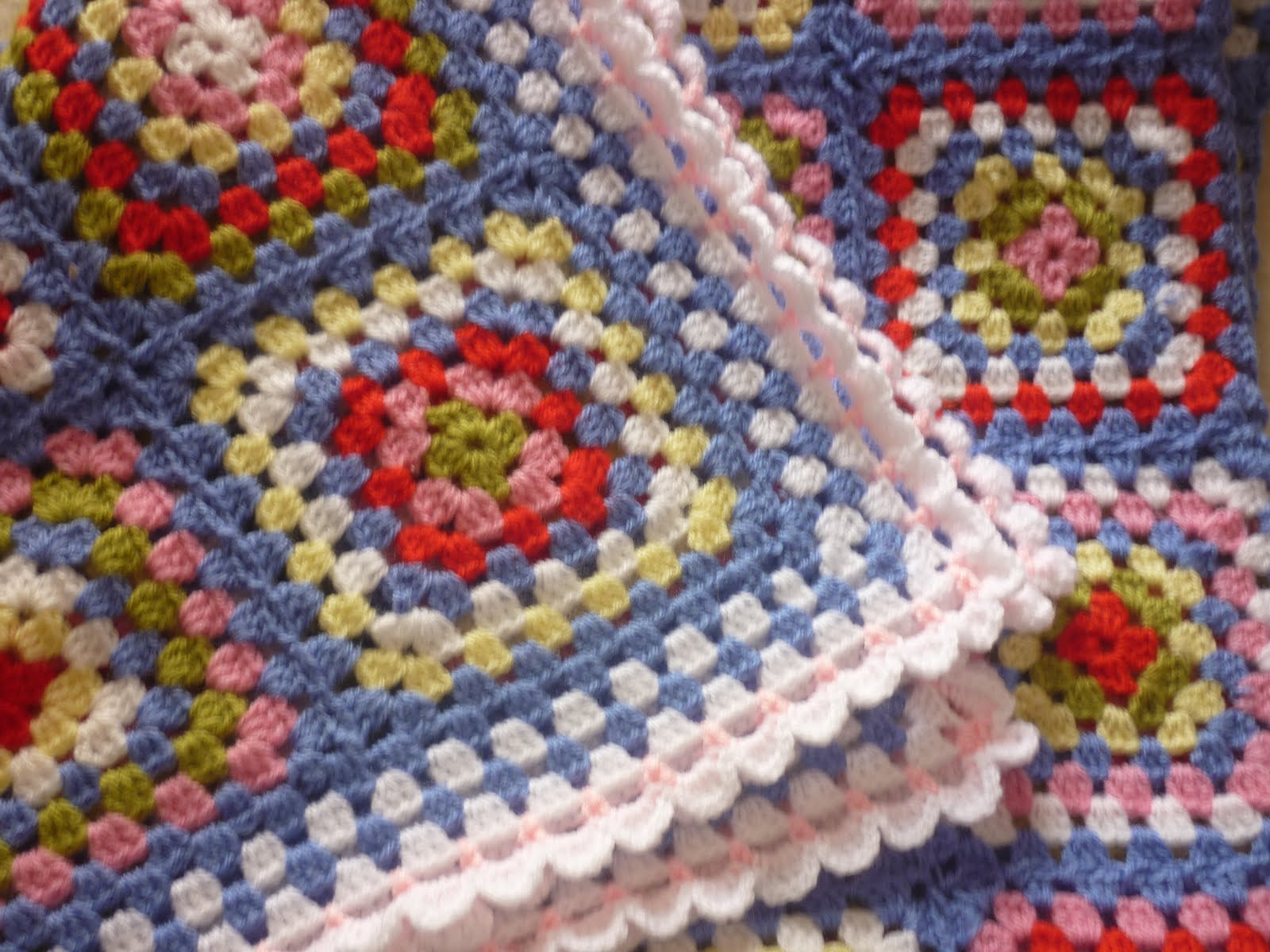 Helens Colourful Crochet Blankets: A blue crochet blanket In Cath ...