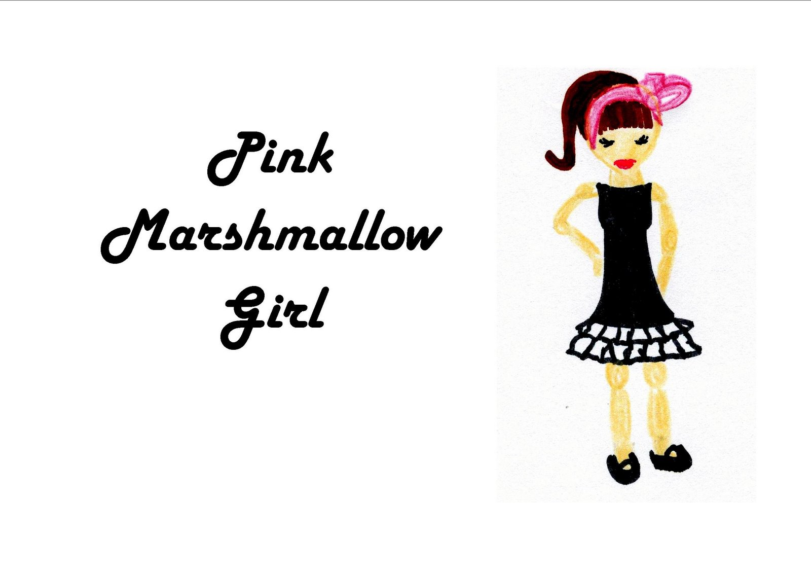 Pink Marshmallow Girl