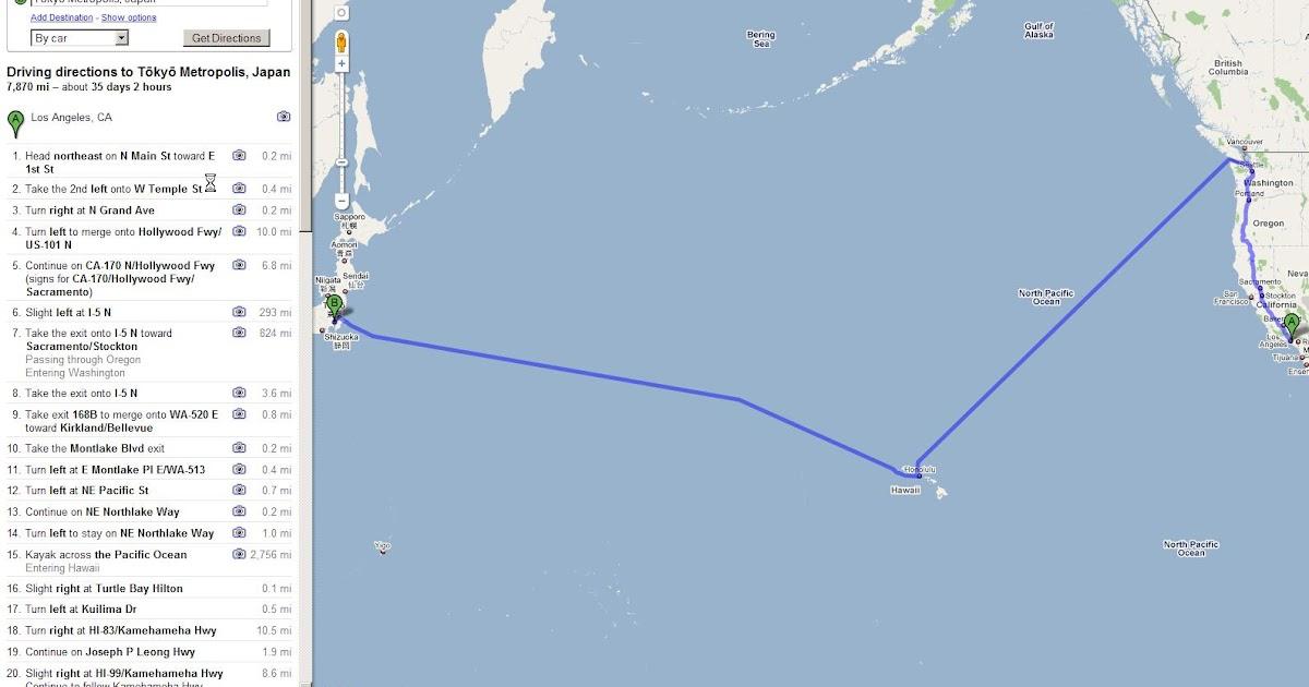 Alex\'s Weblog: Los Angeles to Tokyo the Kayaking Way
