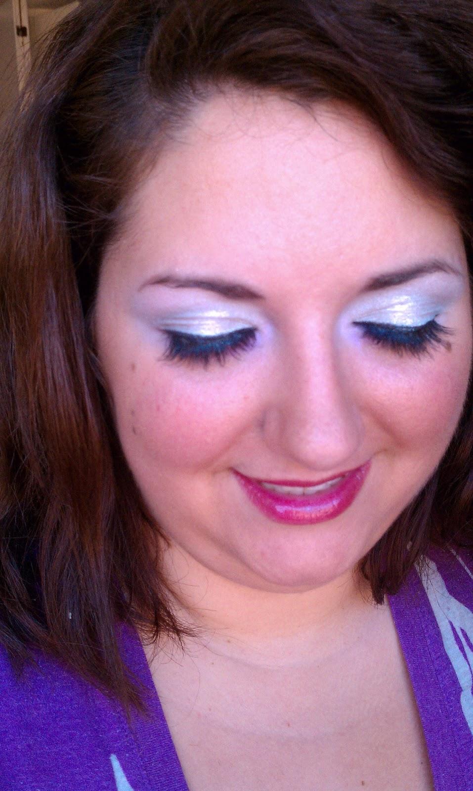 retrourbanrainbow: halloween 2010: classic angel makeup
