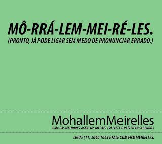 28796 Mohallem Meirelles | Melhor agência do País