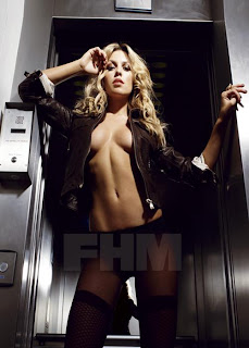 Abigail Clancy Topless In FHM