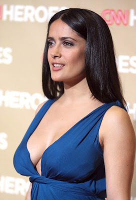 Salma Hayek Keeps It Sexy