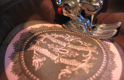 hat patch sewing machine