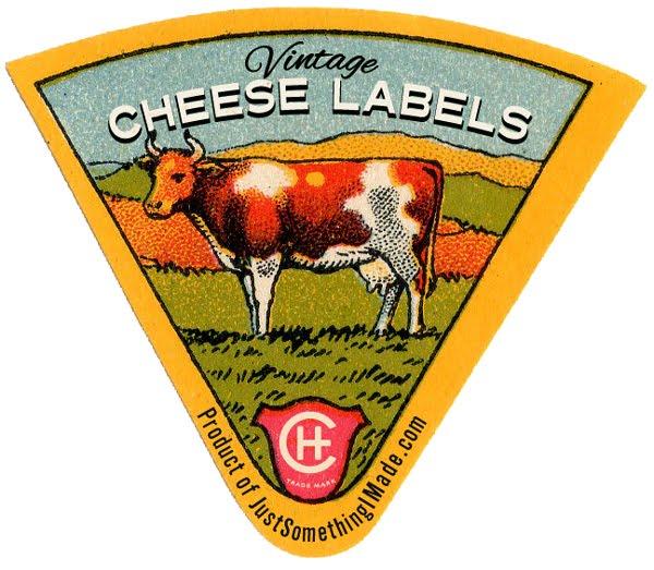diy etiquette fromage