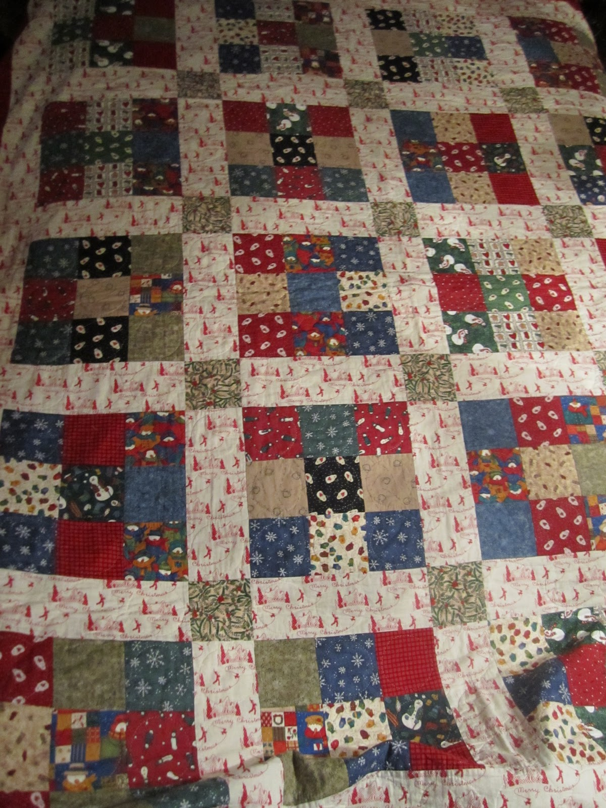 Christmas Quilts - Wendys Hat : discontinued quilt fabric - Adamdwight.com