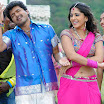 Vijay and Anushka From movie Vettaikaran