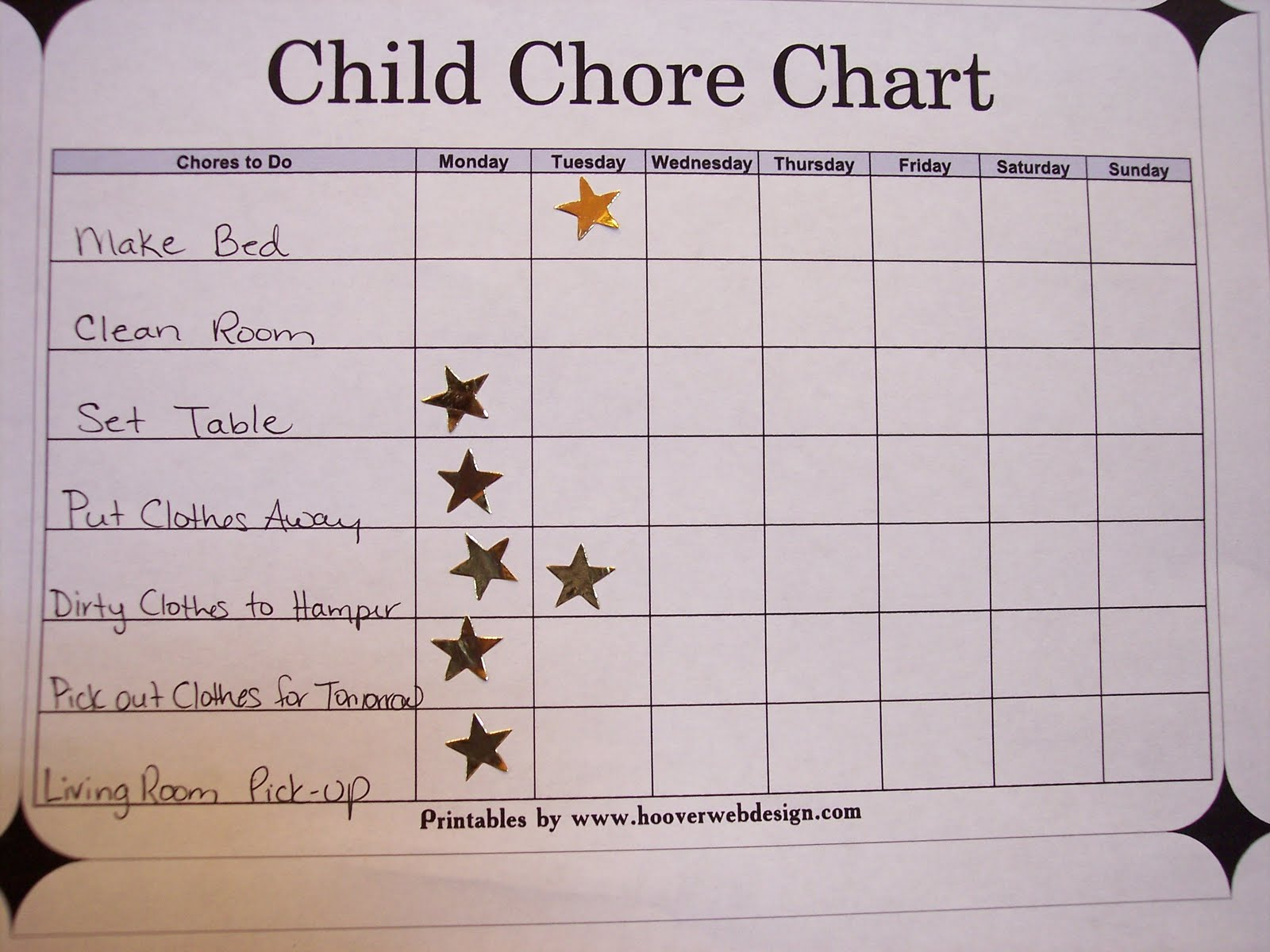 squeezing the day the infamous chore chart i m a list person always have been always will be there s just something about checking off a to do list that gives me a sense of accomplishment