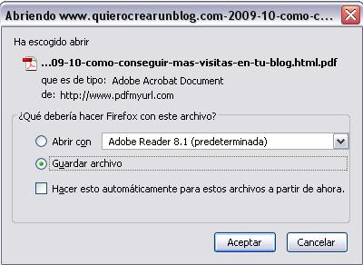 guardar en pdf blogger