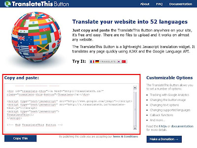 traducir blog