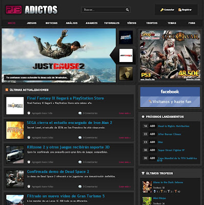 web ps3 adictos