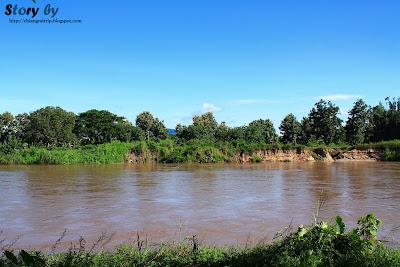 maenam kok river chiangrai province