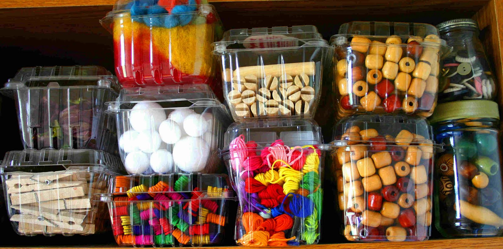 Storage for Craft Supplies