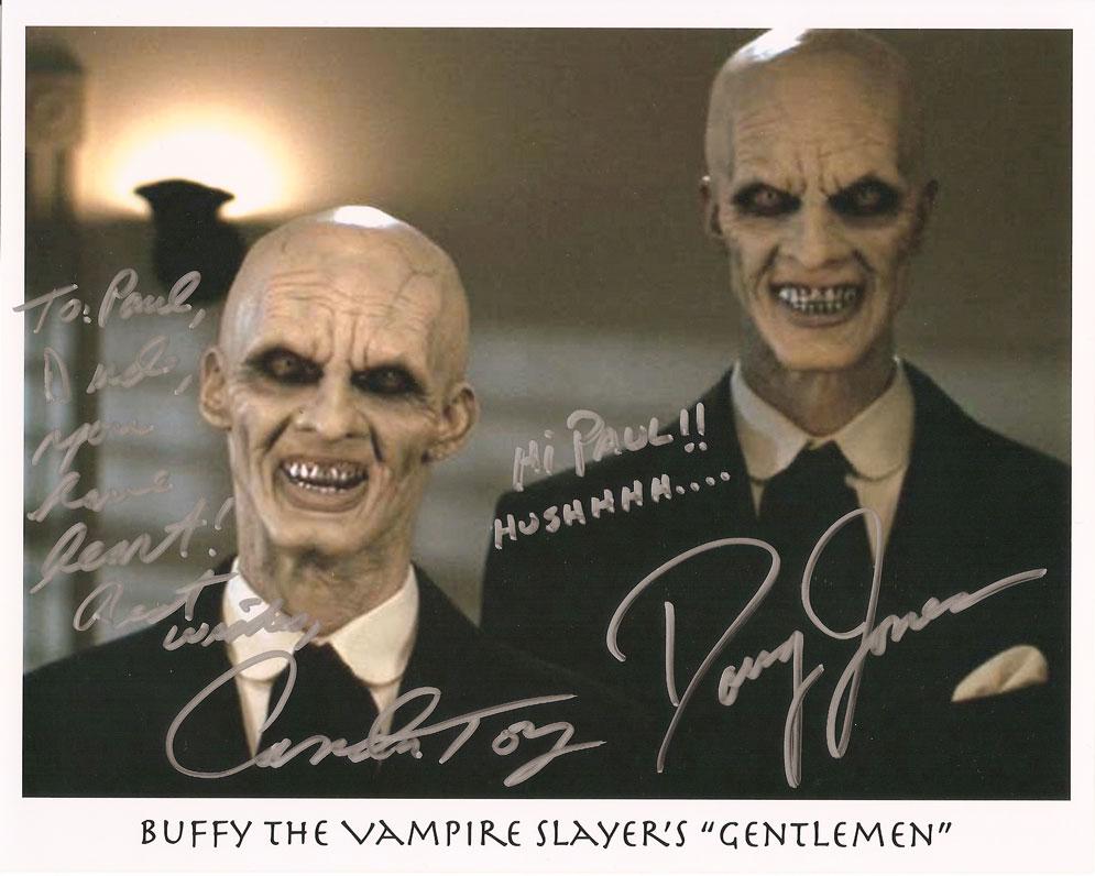 BUFFY Autograph 8x10 Color Photo-Camden toy//Gentleman