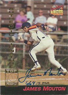 1994 Signature Rookies James Mouton
