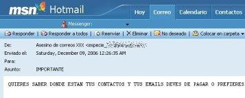 cuentas Hotmail