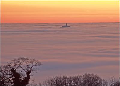 fotografía paisaje con niebla