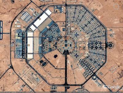 construcciones humanas desde el espacio