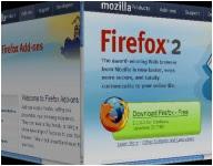 efecto 3d en las pestañas de Firefox