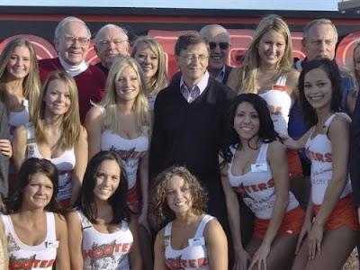 Bill Gates de  bufet libre