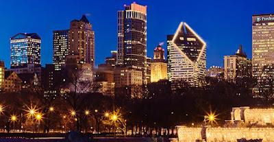 fotografía panorámica de Chicago
