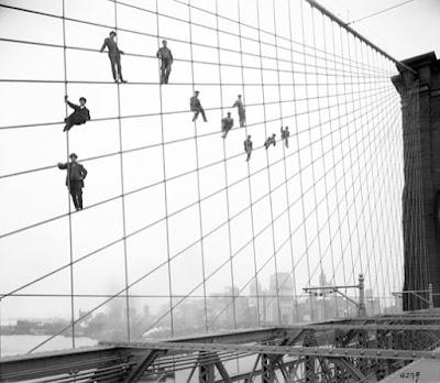 Fotografías de Puentes de New York de los años 30