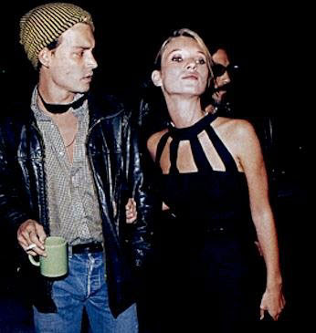 kate moss johnny depp photoshoot. kate moss and johnny depp