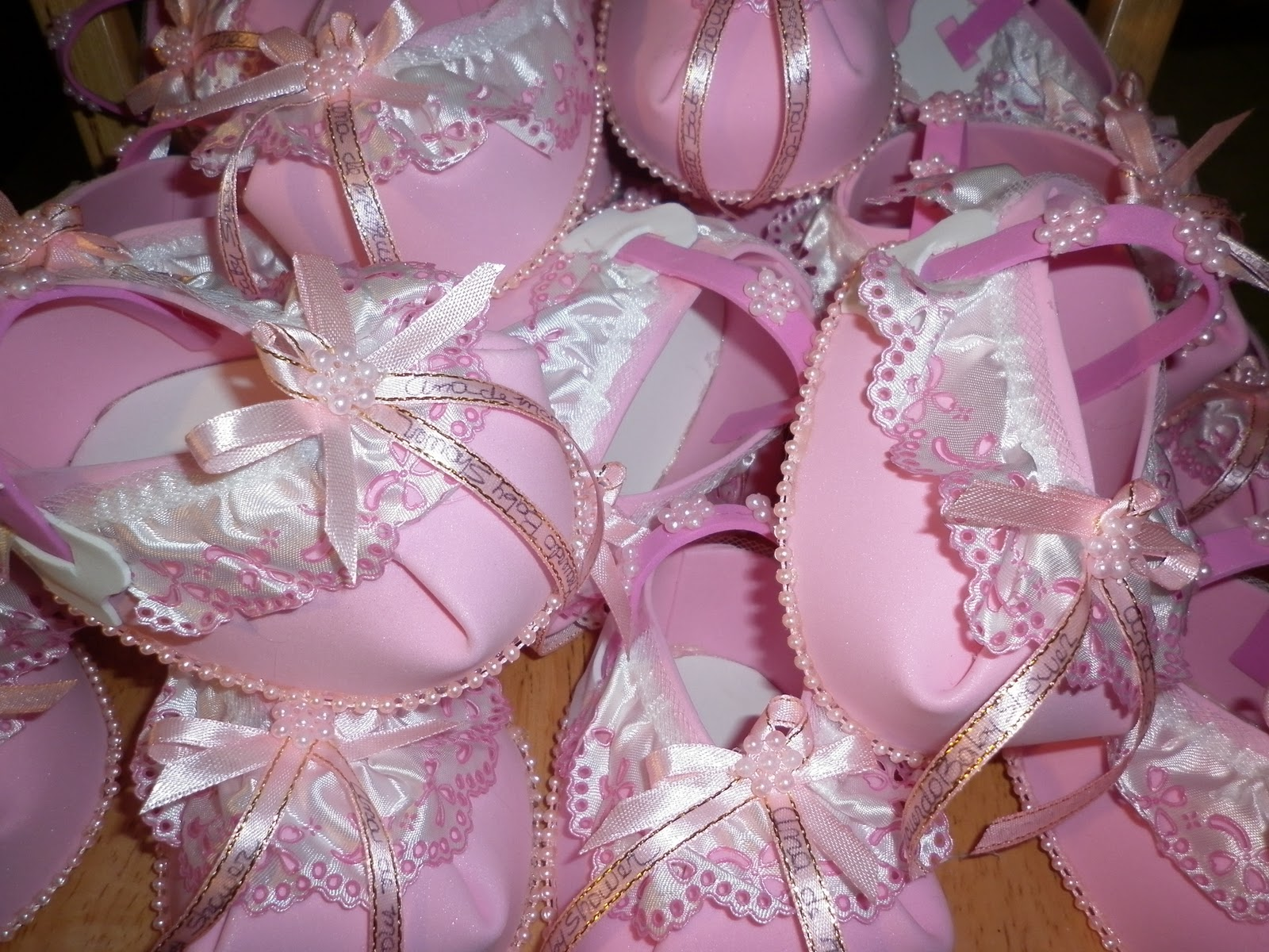 ZAPATITOS PARA BABY SHOWER