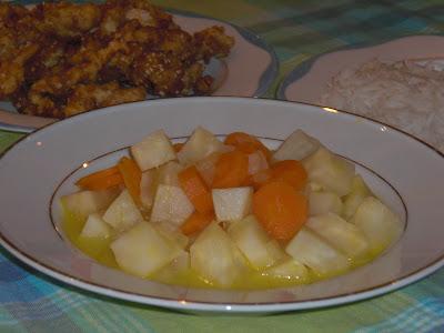 Knolselderij met sinaasappel, Portakalli kereviz