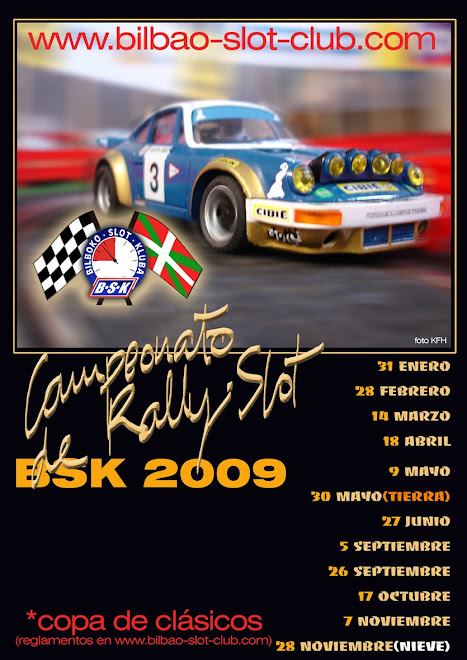 cartel rally BSK 2009