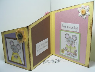 angel stamper 2 tri fold card template