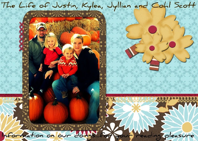 The Life of Justin, Kylea, Jyllian and Cohl Scott!