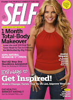 Self Magazine Cover with Jessica Simpson