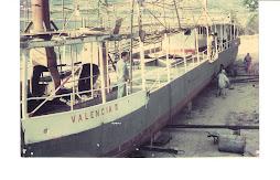 "¡EL BARCO GOMERO ""VALENCIA II"" RESTAURADO EN ""BAHÍA FALTRIQUERA"" DE YUMA(Foto: Osiris Díaz)"