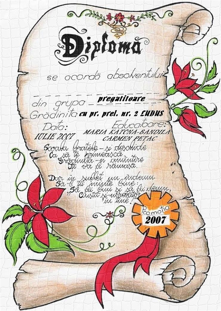 Diplome Festivaluri De Colinde La Prescolari