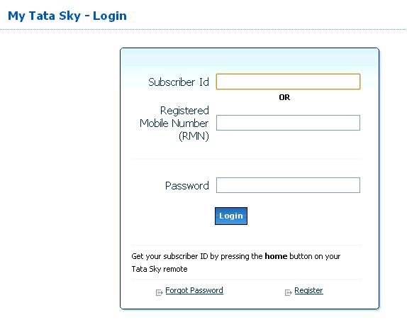 Tata sky recharge discount coupons online