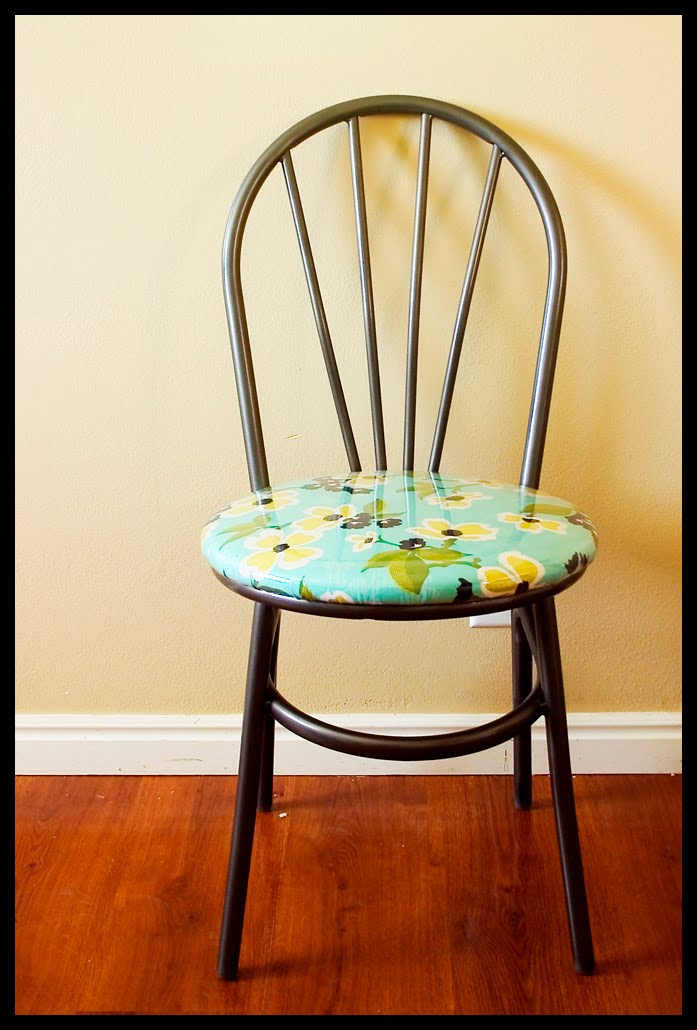 How To Recover Kitchen Chairs With Vinyl