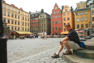 Stockholm town square