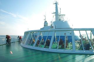 Silja Line bow